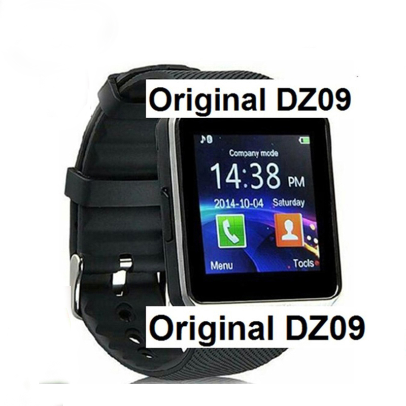 DZ09 Smart font b Watch b font for Apple Android Phone Support SIM TF Reloj Inteligente