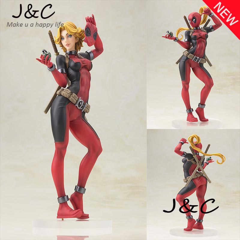Free Shipping NEW hot ! 22cm Super hero Justice League X-MAN Woman Deadpool Action Figure Toys Christmas Toys With Original BOX new hot 22cm avengers super hero hulk movable action figure toys christmas gift doll with box