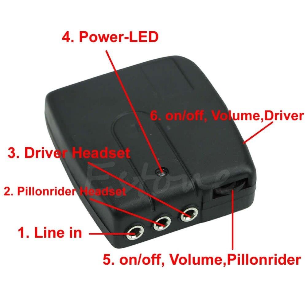Motorrad Motorrad Helm 2-weg Intercom Headset Kommunikation System