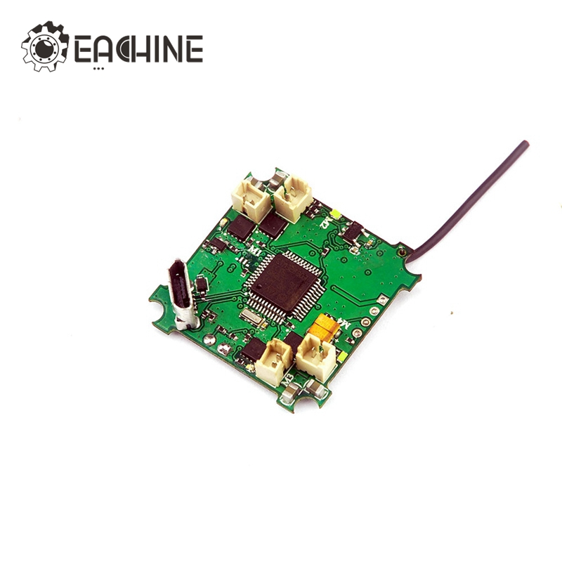 Eachine Beecore Upgrade V2.0 Brushed F3 + OSD Flight Control Board For E010 E010S JJRC H36 RC Quadcopter Mini Drone Spare Part jjpro f3 evo brushed acro flight control board
