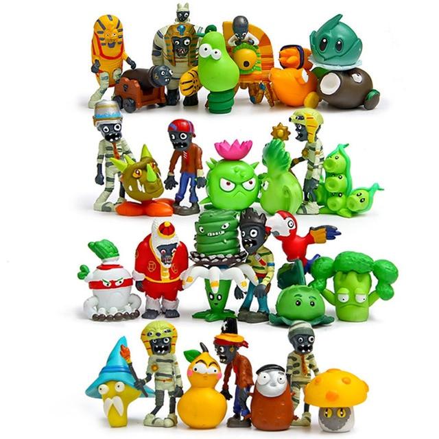 30 pz 5 cm Plants vs Zombies 2 giocattolo PVC figuren 2016 Plants vs  Zombies giocattolo