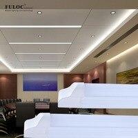 Fuloc светодиодные лампы T8 600 мм 2ft LED Light Tube 14 Вт 28 Вт Интегрированного LED Tube 220 В 240 В светодиодные фонари лампы Освещение clear/молочно крышку