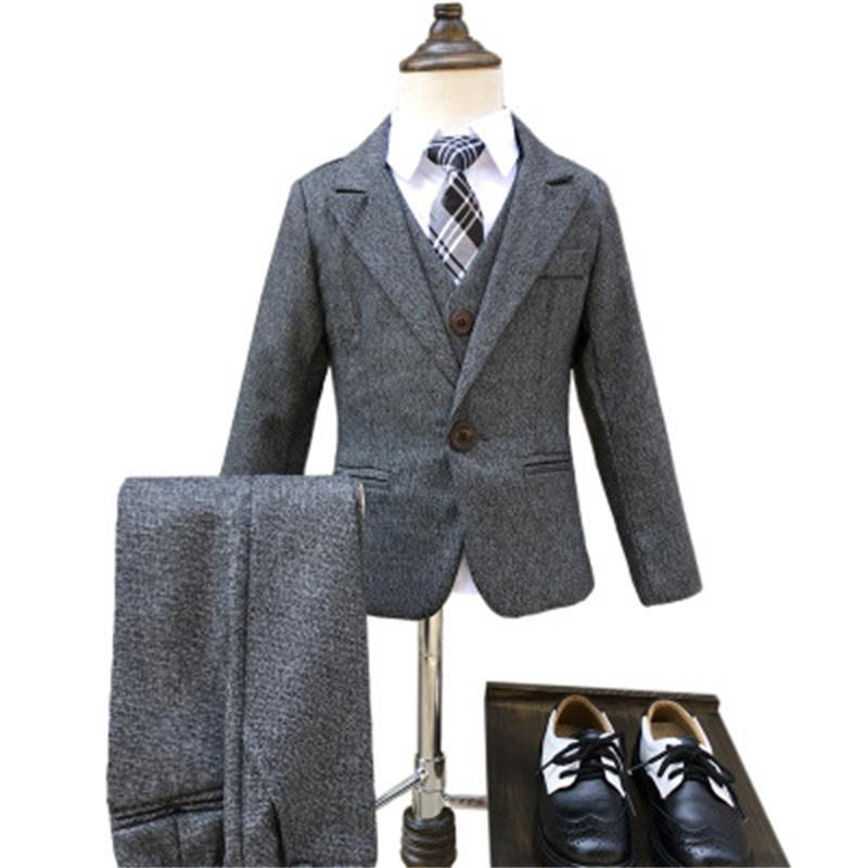 suit for boy One button boys suits for weddings costume enfant garcon mariage boys blazer jogging garcon 3pcs/set плеер pioneer xdp 100r