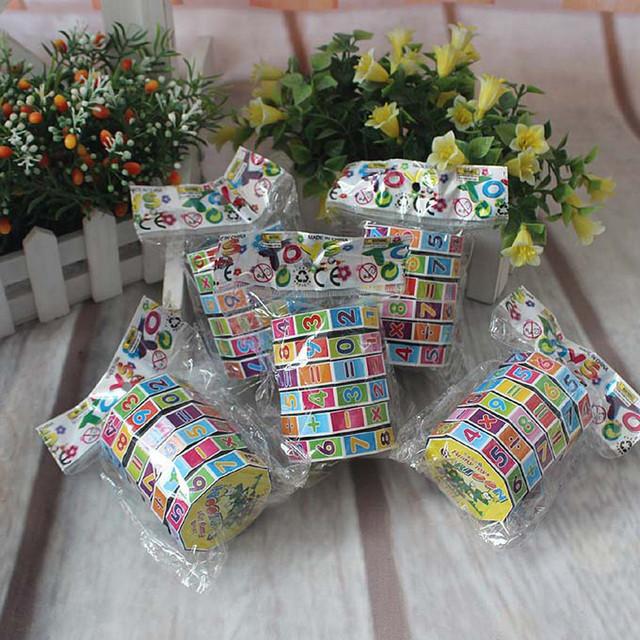 New Children Educational Puzzle Game Toys Children Intelligent Digital Cube Math Kids Mathematics Numbers Magic Cube Toy #H0.61