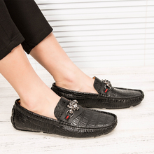 цена на Brand High Quality Casual Shoes Men Hot Sale Breathable Driving For Male Slip-On Men's Loafers Quality Flats Casual Shoes  5