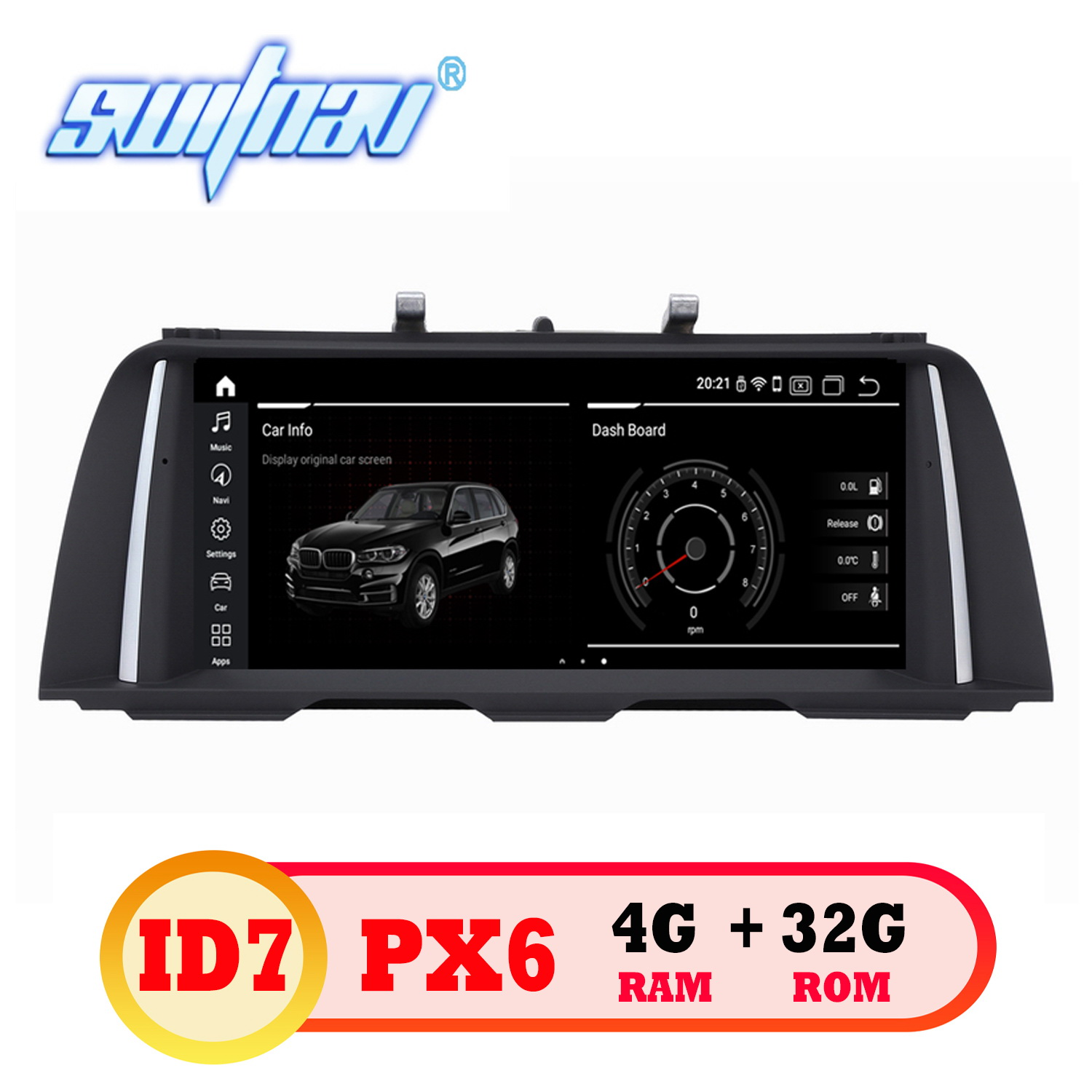 Android 9.0 6 core ID7 CAR DVD FOR BMW 5 Series F10/F11 Original CIC/NBT System stereo GPS monitor multimedia in one ips screen-in Car Multimedia Player from Automobiles & Motorcycles    1