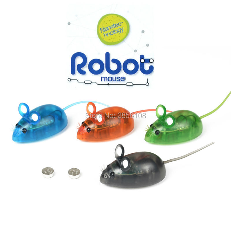 Electronic Nanotec-hnology Robot Mouse Toy for Cat Dog Kid,mini  Robot Game electronic pets toys for kids,4 colors mixed air max 95 white just do