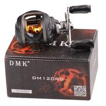 DMK Right/Left Baitcasting Reel 10BB 6.3:1 Bait Casting Carp Fishing Reels Molinete Peche Carretilha Carretes Pesca Lure Wheel