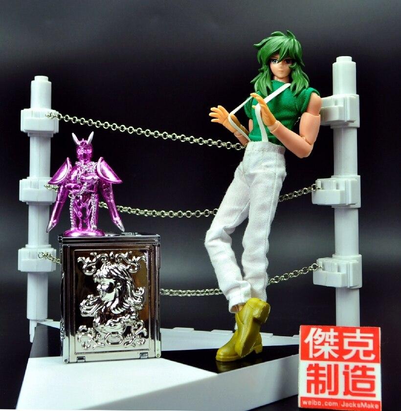 Em estoque jacksdo saint seiya mito pano andromeda shun figura de ação brinquedo modelo com 1/6 arena