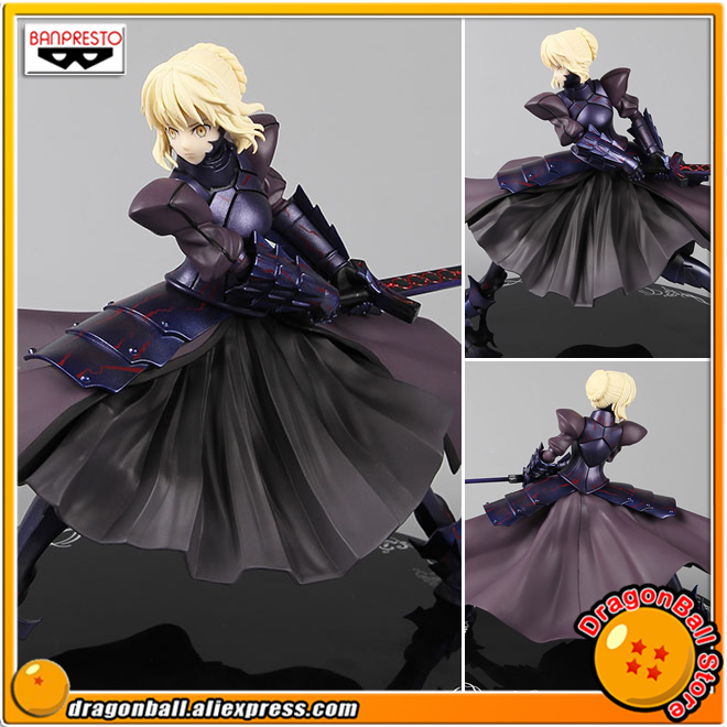"Japan Anime ""Fate stay night Heaven's Feel"" Original Banpresto Collection Figure - Saber Alter"