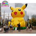 Outdoor playground equipment for kids and adults blow up pikachu of pokemon