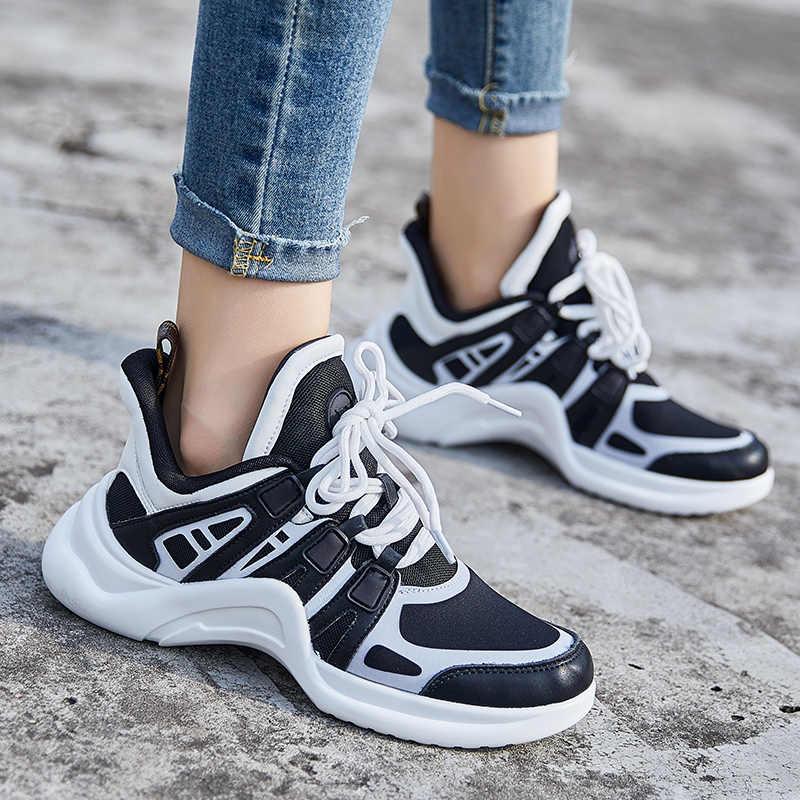 Basket Femme/2019 г. весенне-летняя женская Баскетбольная обувь корейские дышащие спортивные кроссовки для отдыха для девочек, популярная обувь из сетчатого материала