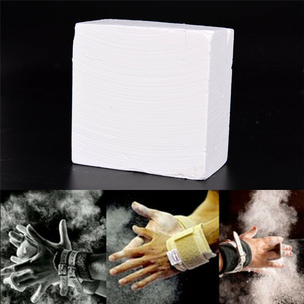 Gymnastic Chalk Block For Sports Gym Weight Lifting White Magnesium Carbonate Horizontal Parallel Bars Gymnastic Rings Training