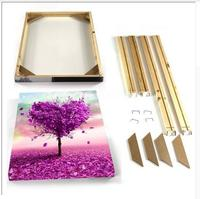DIY Customized Stretch Wooden Frame For Canvas Oil Painting Home Decor For Living Room Without Painting