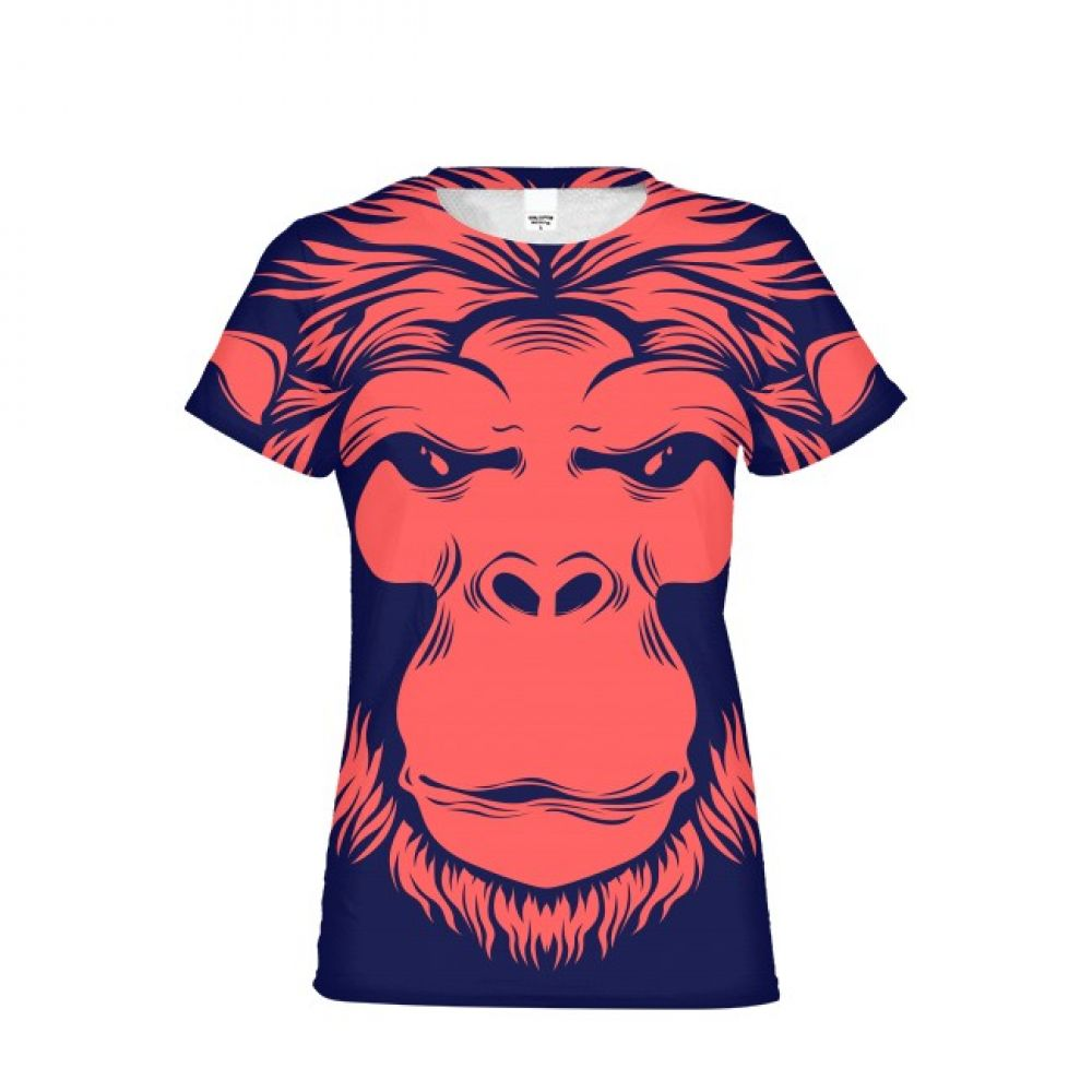6b3e6d30e97c 2019 streetwear Kids Funny T shirt Orangutan King Kong Boy Girl 3d Print  Animal Monkey Short Sleeve Summer Couple Tops Tees-in Matching Family  Outfits from ...