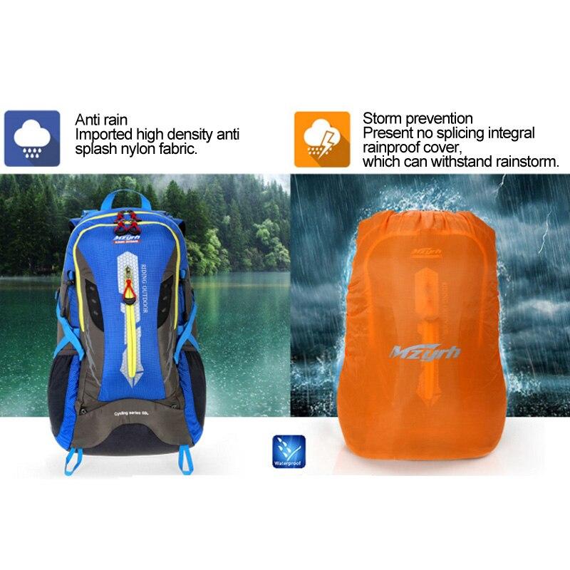 ROCKBROS 24L рюкзак для велоспорта, повседневный Школьный рюкзак, водонепроницаемый рюкзак для велосипеда, Рюкзак Для Путешествий, Походов, Кемп... - 5