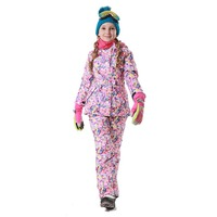 Dollplus 2019 Winter Outdoor Children Set Windproof Ski Jackets + Pants Kids Snow Sport Sets Warm Skiing Suit for Girls Clothes