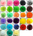 """1pcs 10""""(25cm) Tissue Paper Pom Poms DIY Creative Paper Flower For Birthday Party Supplies Wedding Decorations"""