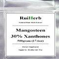 Extracto do mangostão 30% Xantonas Pó Super Suplemento Antioxidante 17.6 oz (500g)