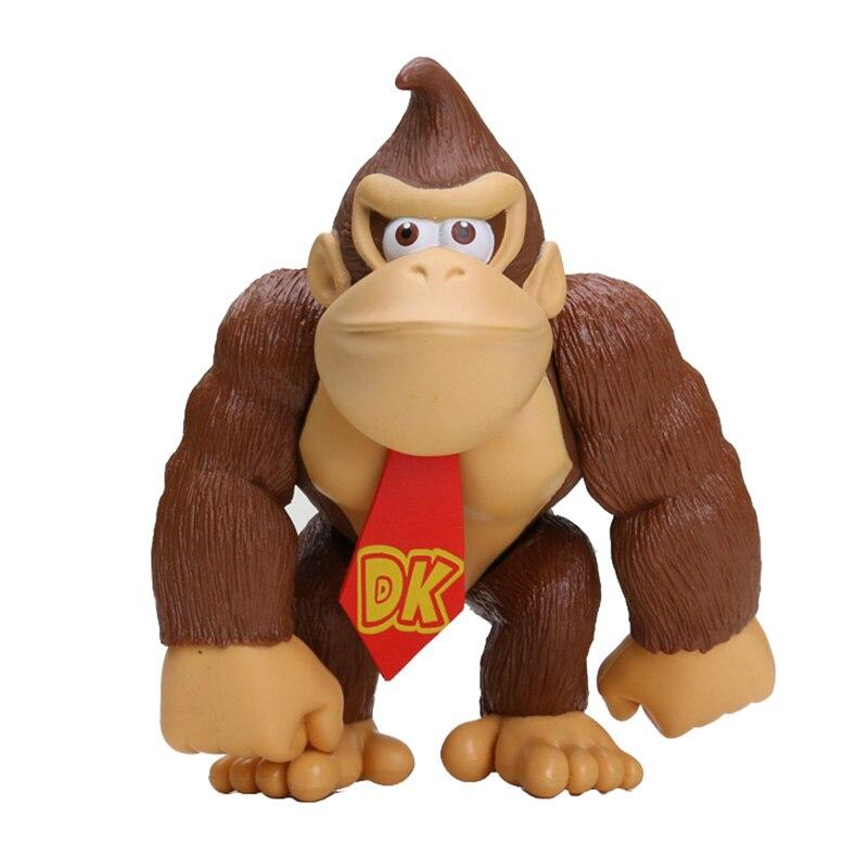 DONKEY KONG 5pcs 6'' Super mario PVC Action Figure Model Toy model toy donkey kong super mario - title=