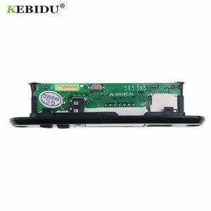 Image 3 - KEBIDU 5V 12V Bluetooth MP3 WMA FM AUX décodeur Module Audio FM TF Radio Automobile voiture MP3 haut parleur accessoires pour voiture
