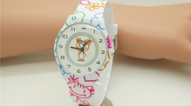 Willis Mini Cartoon Women's Brand Wrist Colorful Watches Ladies Watches Fashions