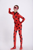 YOYO EARRING Miraculous Kids Adult Ladybug Cosplay Costume With Mask Ladybug