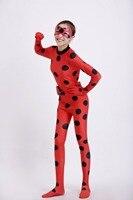 YOYO EARRING Miraculous Kids Adult Ladybug Cosplay Costume With Mask Ladybug