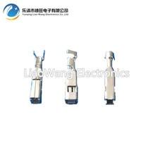 все цены на 100 PCS 2.8 series automotive connector terminal wiring copper terminal plug socket pin DJ627-2.8A онлайн