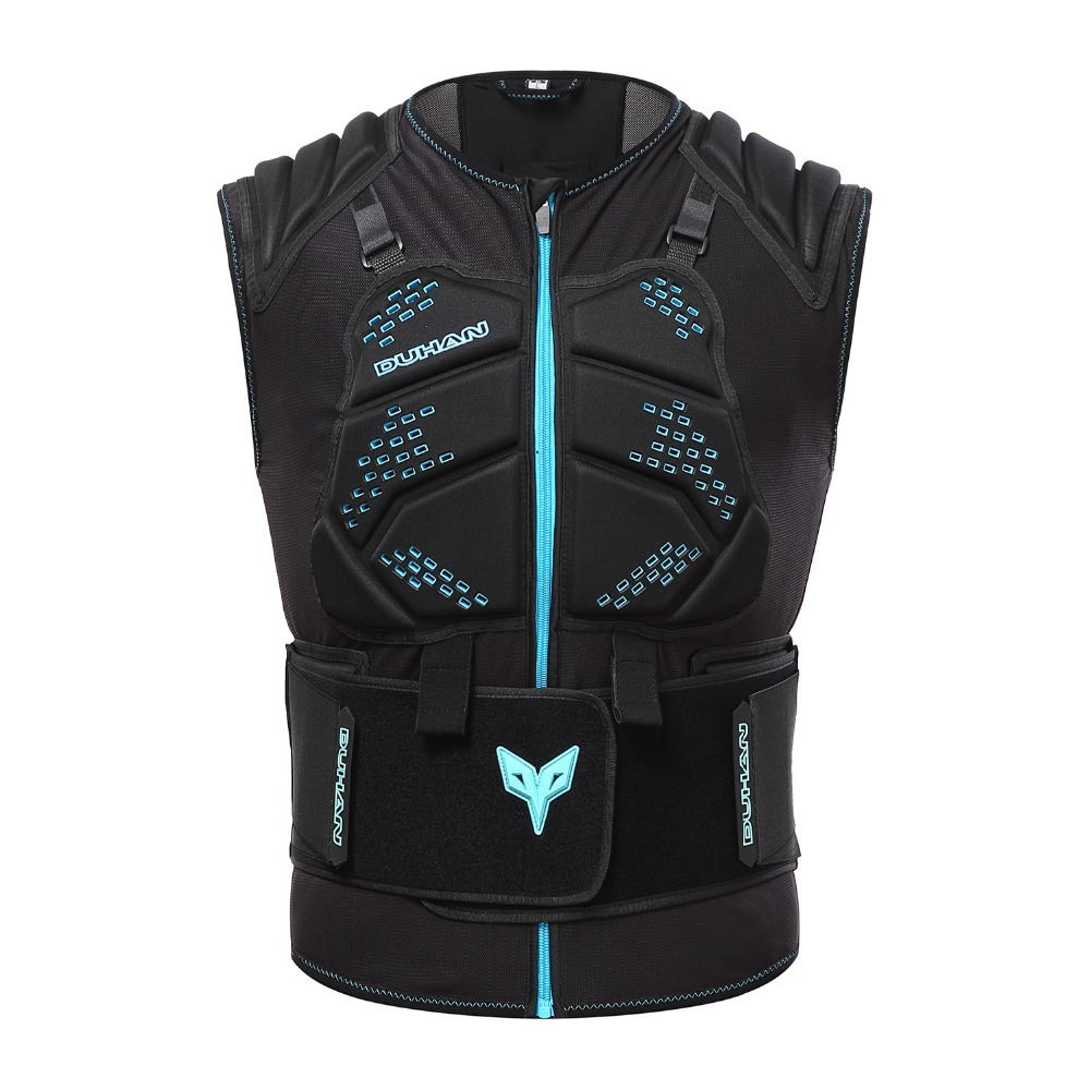 DUHAN Motorcycle body armor protective vest gear protection guards full body protectors DH10 DH11 SWX MOTO herobiker armor removable neck protection guards riding skating motorcycle racing protective gear full body armor protectors