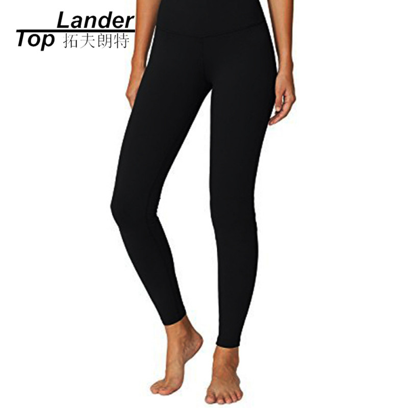 Yoga leggings Fitness Elastic Leggings Sport Pants Women Fitness Gym Tights High Waist Sexy Workout Lulu Yoga Pants colourvalue anti sweat peacock printed yoga pants women stretchy fitness foot tights elastic high waist workout sport leggings