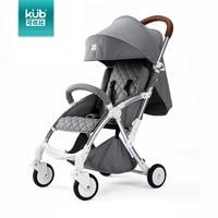 KUB baby stroller baby trolley light folding be sitting can be lying children four wheel hiding vehicles Car Umbrella Travel