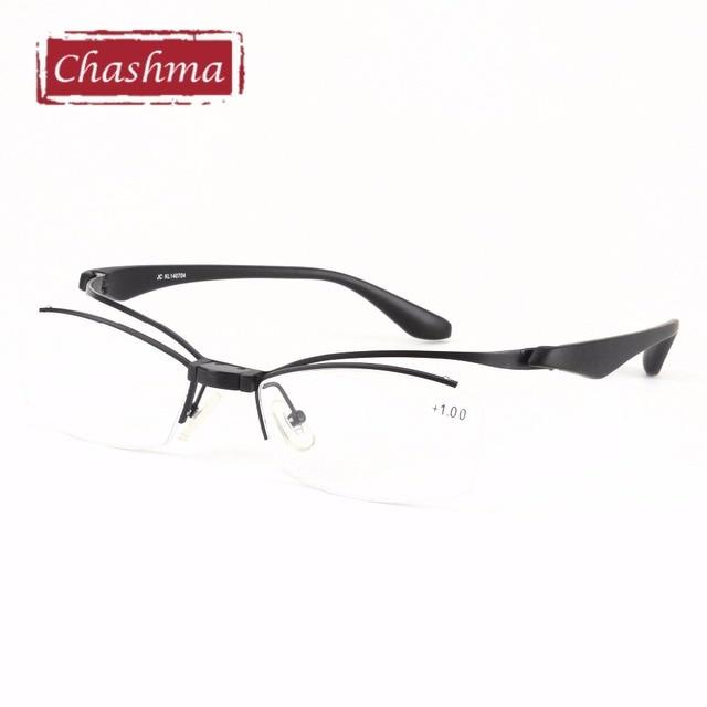 475623ffa6021 Chashma Marca Top Quality Brand Design Read Glasses Ritagliare Up Occhiali  Da Lettura per Gli Uomini