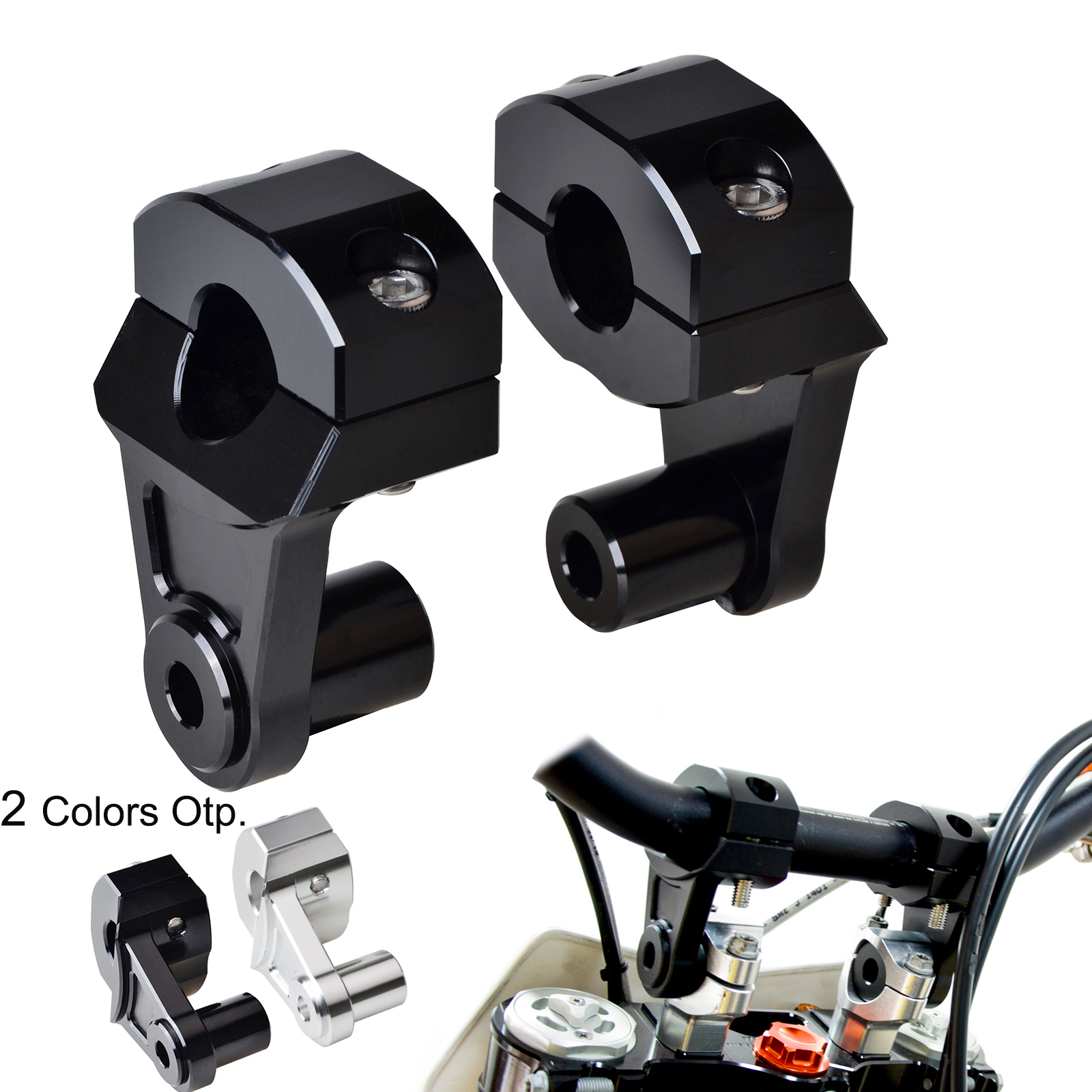 22mm Handlebar Riser Clamp Mount For Suzuki DL 650 1000 V Strom SV DRZ 400S/E DR 200SE 650SE GSF 600 1200 1250 GSR GSX 750 1400 motorcycle clutch wire adjustment cable cnc aluminum m8 m10 for suzuki gsr 600 750 sv 650 1000 sv1000 dl650 v strom 650 1000