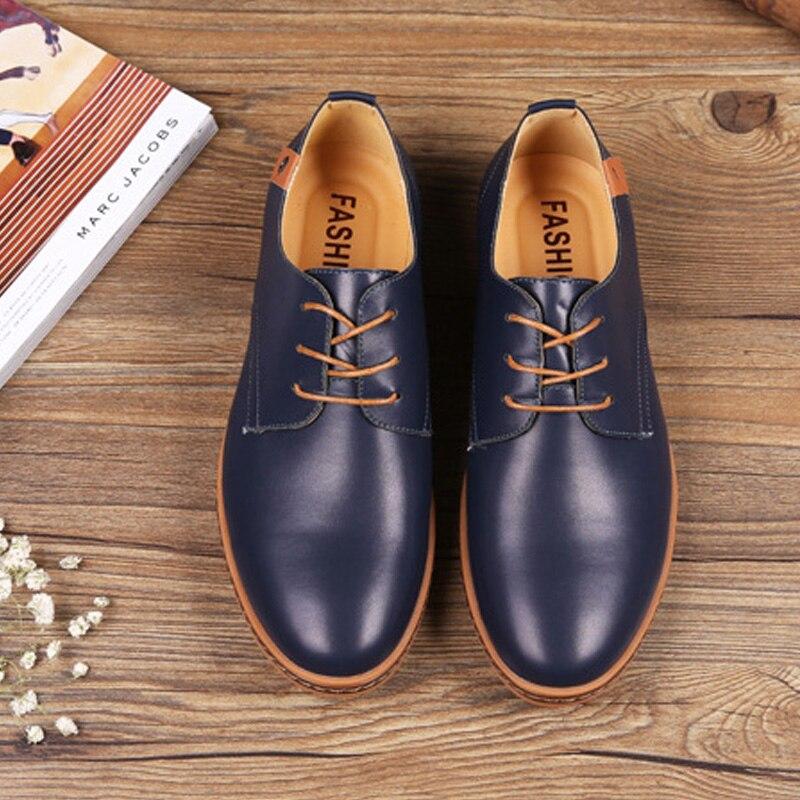 Zapatos 48 Cuero Talla Wh9id2ye Hombres 38 De Pu Oxford pLSzGqMUV