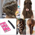 New Fashion Chic French Hair Braiding Tool Roller With Magic Hair Twist Styling Bun Maker