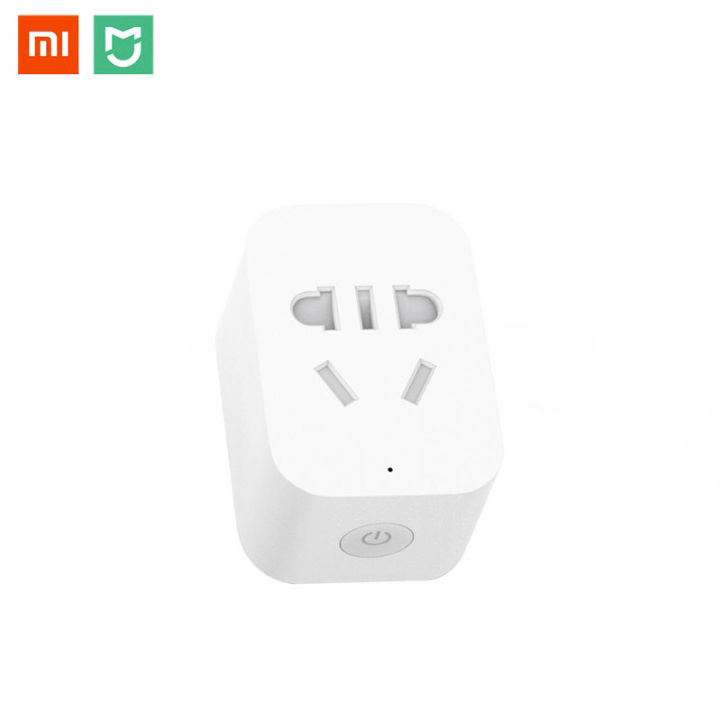 Xiaomi MIJIA Smart Wireless WIFI Buchse Stecker ZigBee Version Verbesserte Fernbedienung Timing Schalter Power Zählen Unterstützung Gateway