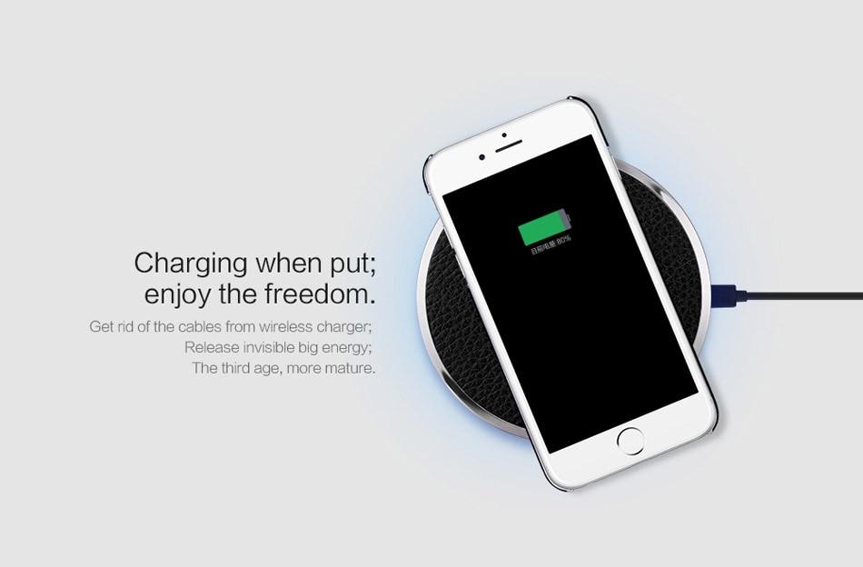 Wireless Charger Qi Fast Charging NILLKIN Mobile Phone Chargers Qi Wireless Charger Mini Pad For iPhone Xiaomi 9 Mix 2s Huawei (1)