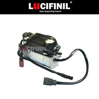 LuCIFINIL nowe zawieszenie pneumatyczne powietrza pompa sprężarki powietrza pasuje do VW Phaeton BentleyContinental 3D0616005M 3D0616005K