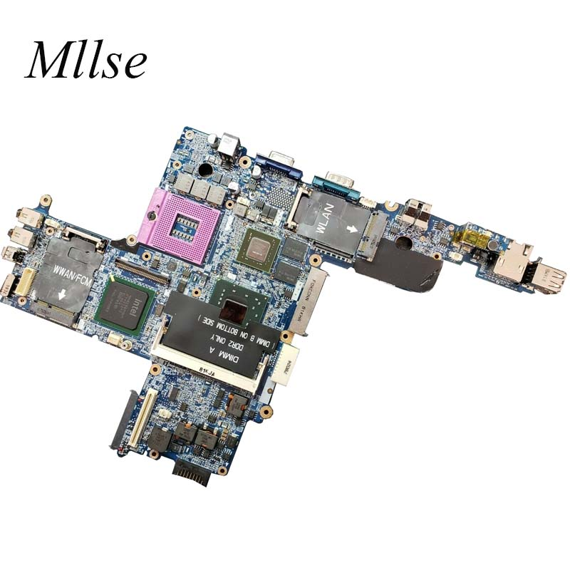 Free Shipping For Dell Latitude D630 Laptop Motherboard 965PM DDR2 Quadro NVS 135M CN-0R872J 0R872J CN-0PN302 0PN302 0PN302