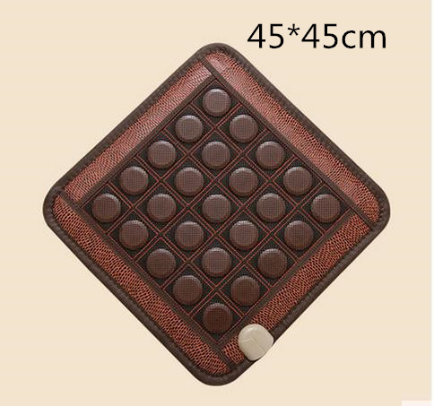 Net surface germanium jade massage cushion heating pad ms tomalin buffer and comfortable office chair cushion new fashion home massage cushion chair cushion heating pad germanium stone cushion tomalin ochre buffer s office