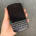 Original blackberry q10 8mp 3g wifi bluetooth abrió el teléfono móvil restaurado smartphone inglés teclado árabe