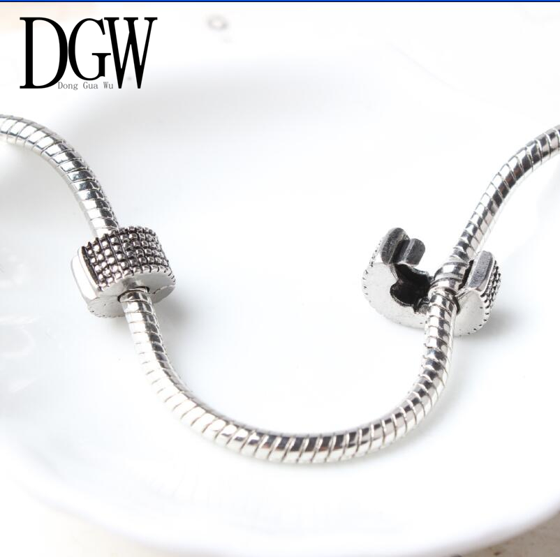 DGW Free Shipping Bead DIY big hole European alloy Beads Pendants Fits Pandora Bracelets necklaces ...