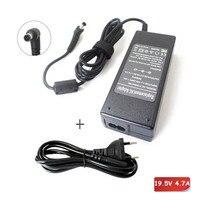 19.5 V 4.7A AC Cargador Portátil Adaptador de Enchufe Para Sony VGP-AC19V51 VGP-AC19V50 VAIO VGN PCG GRS GRX Cable de Alimentación 90 W