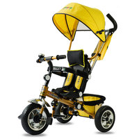CANCHN Protable Fold Baby Walker Child Tricycle EVA And Upgrade Inflatable Wheel Can Choose Baby Stroller