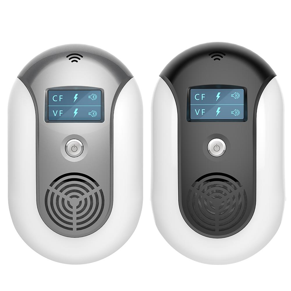 Electronic Pest Control Ultrasonic Pest Repeller Home Anti Mosquito Repellent Killer Rodent Bug Reject Mole Mice EU US Plug