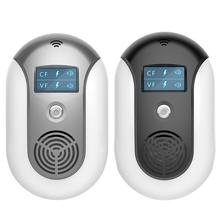 Electronic Pest Control Ultrasonic Pest Repeller Home Anti Mosquito Repellent Killer Rodent Bug Reject Mole Mice EU US Plug цена и фото