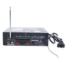 600W DC12V AC220V Car Amplifier Mini HiFi Stereo Audio Power Amplifier with Digital Bluetooth for Car Auto Home Audio