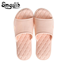 Woman Home Slippers Man Lovers Slides Very Soft Eva Bathroom Shoes Non-slip 2019 Children Pink