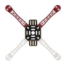HJ 450 4-axis 450 F Frame Airframe Flame Wheel Strong Smooth KK MK MWC Quadcopter Red+White+Black(China)